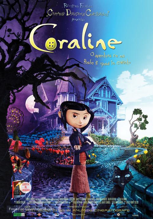 Coraline - Romanian Movie Poster