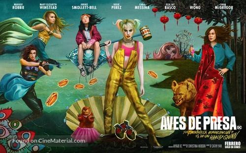 Harley Quinn: Birds of Prey - Argentinian Movie Poster