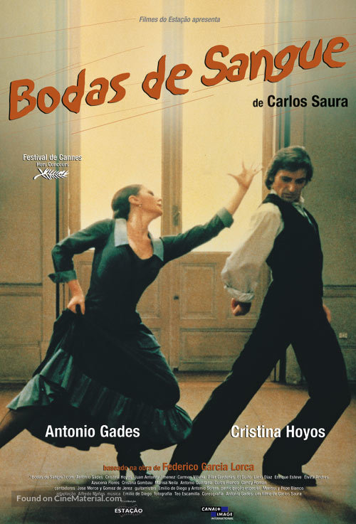Bodas de sangre - Brazilian Movie Poster