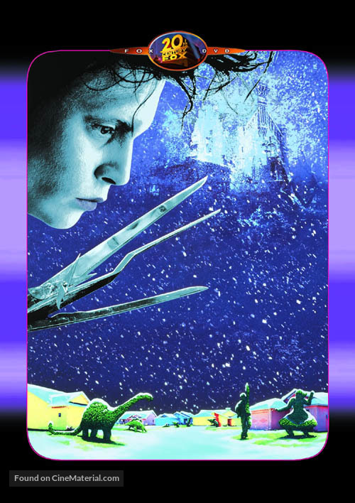 Edward Scissorhands - DVD movie cover