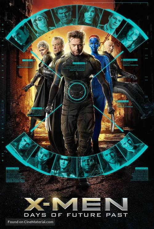 X-Men: Days of Future Past - Movie Cover