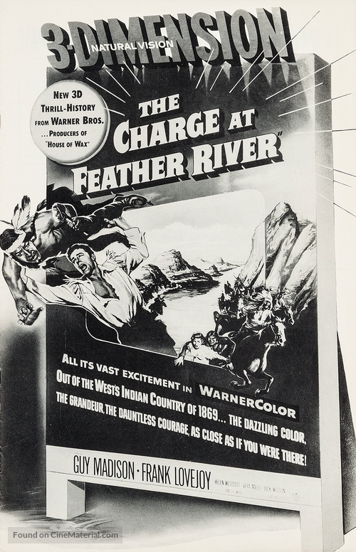 The Charge at Feather River - poster
