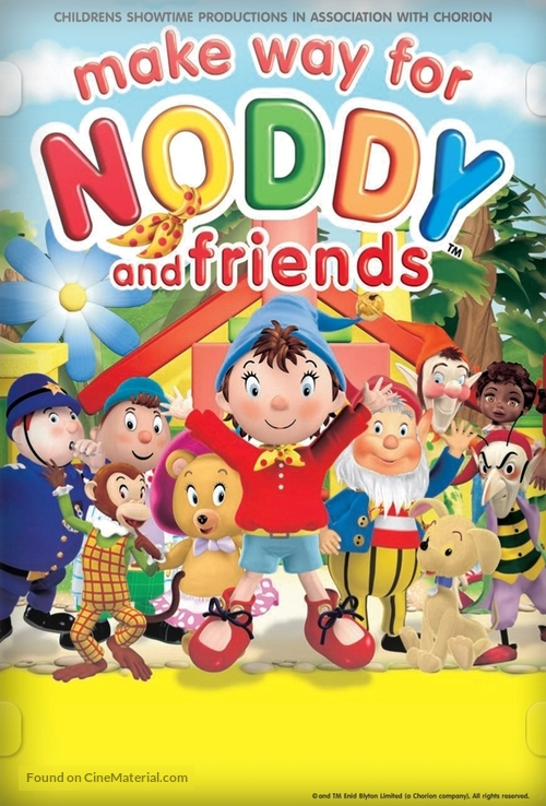 """""""Make Way for Noddy"""" - DVD movie cover"""