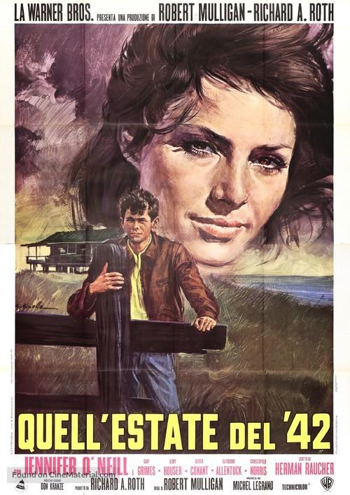 Summer of '42 - Italian Movie Poster