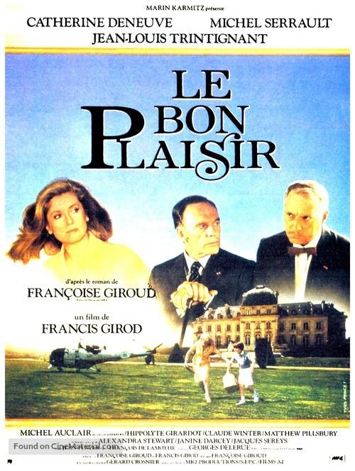 Bon plaisir, Le - French Movie Poster