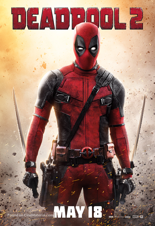 Official Deadpool 2 Movie Poster Gif