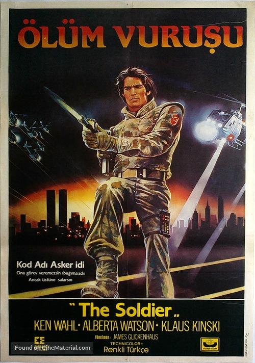 The Soldier - Turkish Movie Poster