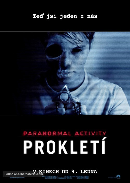 Paranormal Activity: The Marked Ones - Czech Movie Poster
