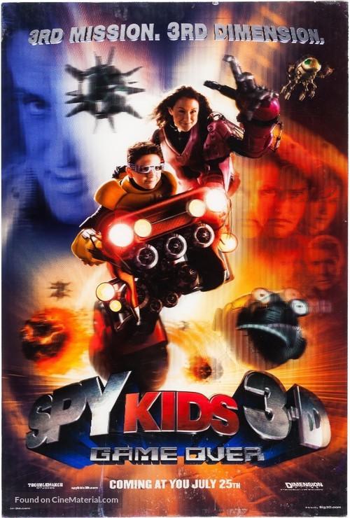Spy Kids 3 - Movie Poster