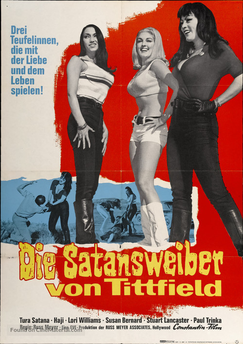 Faster, Pussycat! Kill! Kill! - German Movie Poster