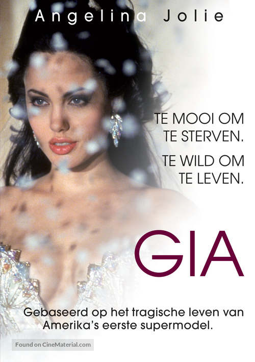Gia - Belgian DVD movie cover