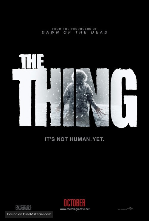 The Thing - Movie Poster