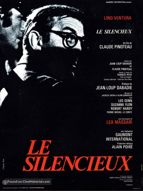 Le silencieux - French Movie Poster