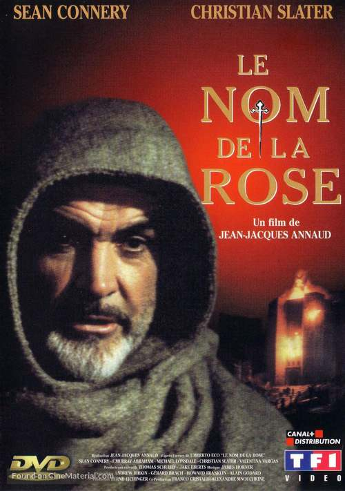 The Name of the Rose - French Movie Cover