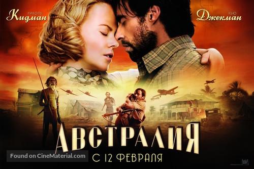 Australia 2008 Russian Movie Poster