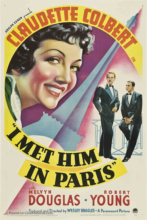I Met Him in Paris - Movie Poster