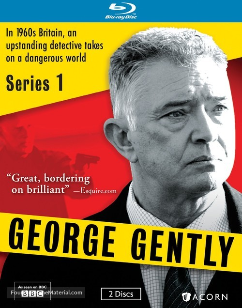 """""""Inspector George Gently"""" - Blu-Ray movie cover"""