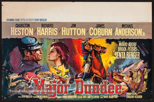 Major Dundee - Belgian Movie Poster