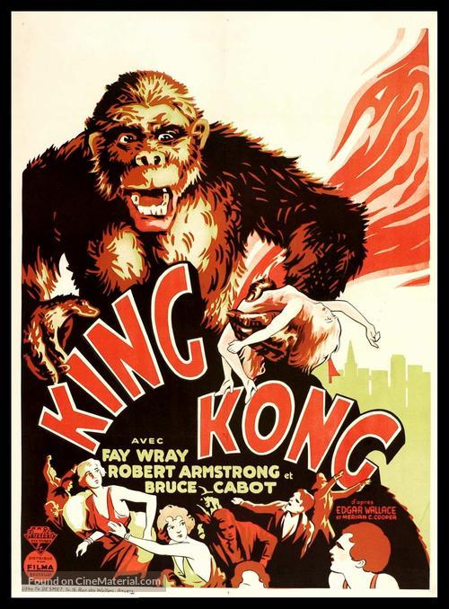 King Kong - Belgian Movie Poster