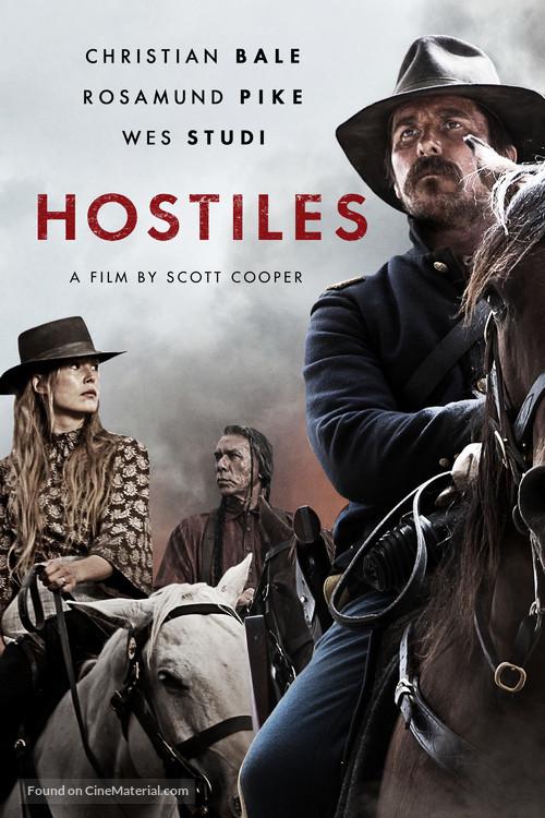 Hostiles - British Movie Cover
