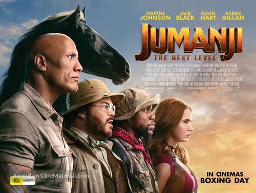 Jumanji: The Next Level - Australian Movie Poster
