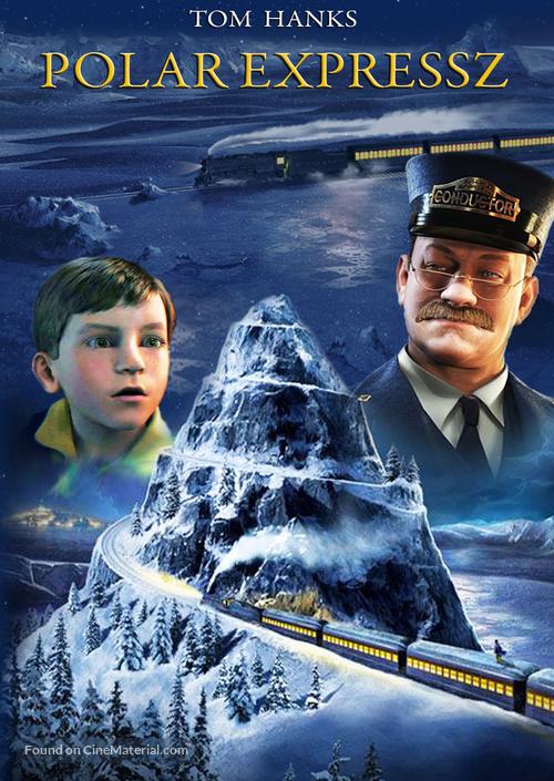 The Polar Express 2004 Hungarian Movie Poster