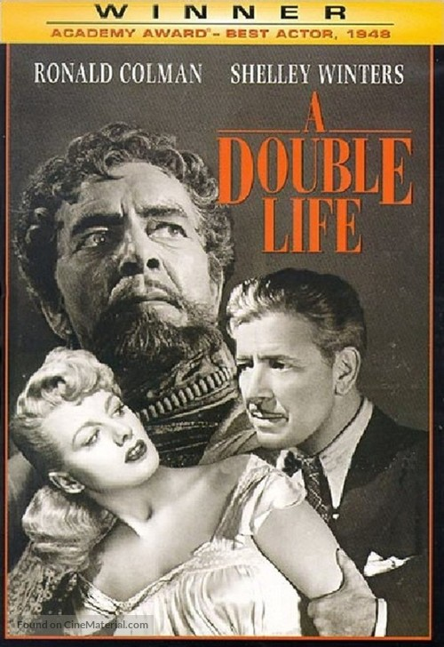 A Double Life - DVD movie cover