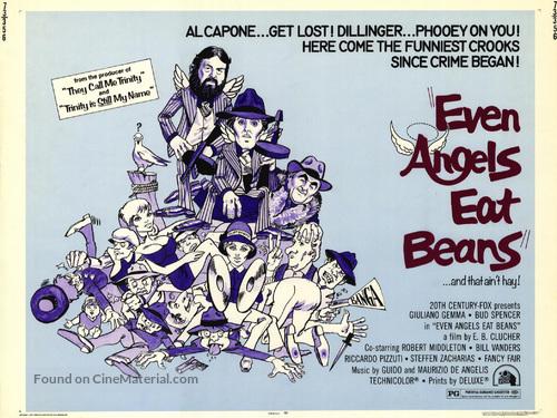 Anche Gli Angeli Mangiano Fagioli - Movie Poster