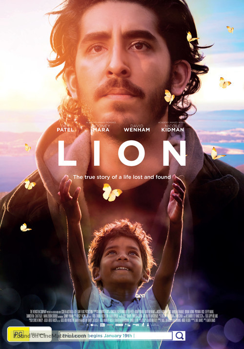 Lion - Australian Movie Poster
