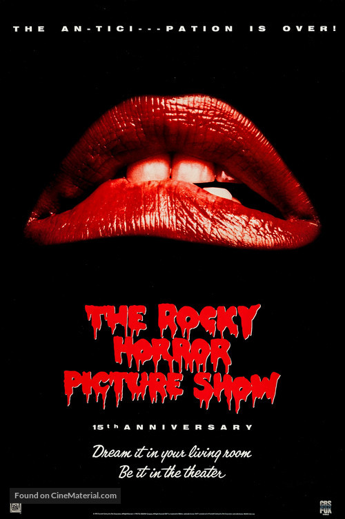 The Rocky Horror Picture Show - Video release movie poster