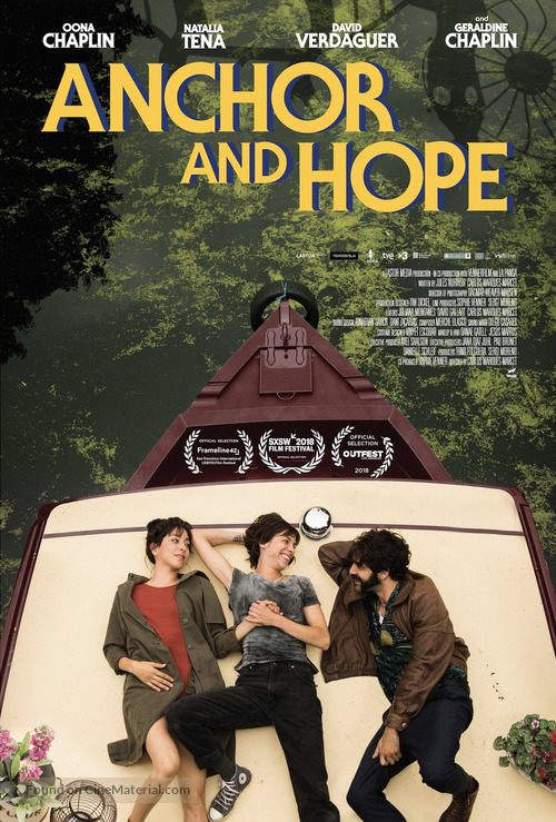Anchor and Hope - Theatrical movie poster