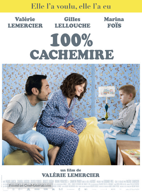 100% cachemire - French Movie Poster