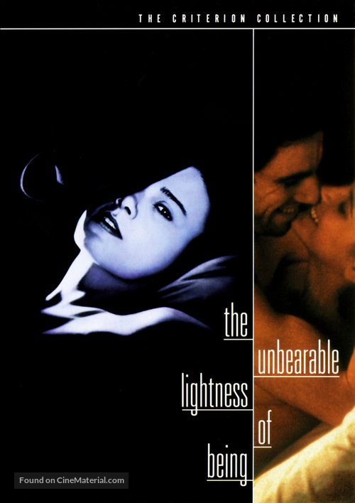 The Unbearable Lightness of Being - DVD movie cover