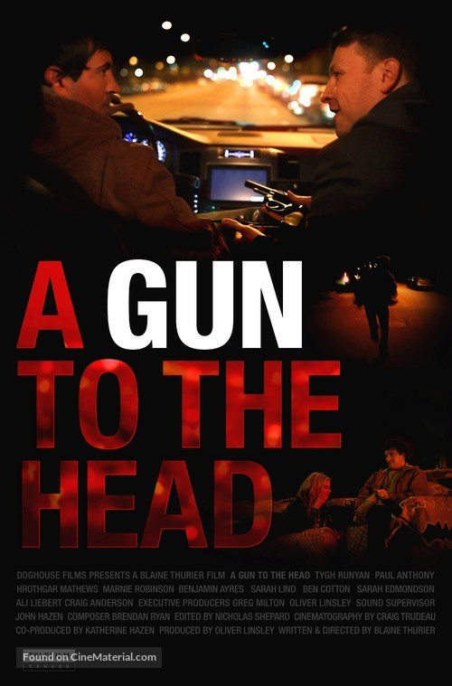 A Gun to the Head - Canadian Movie Poster