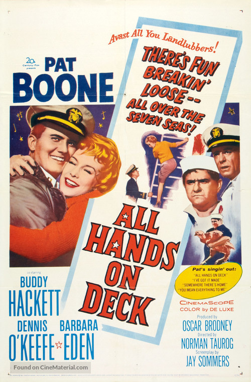All Hands on Deck - Movie Poster
