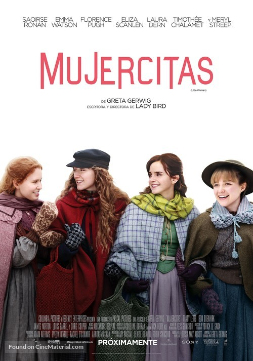 Little Women - Mexican Movie Poster