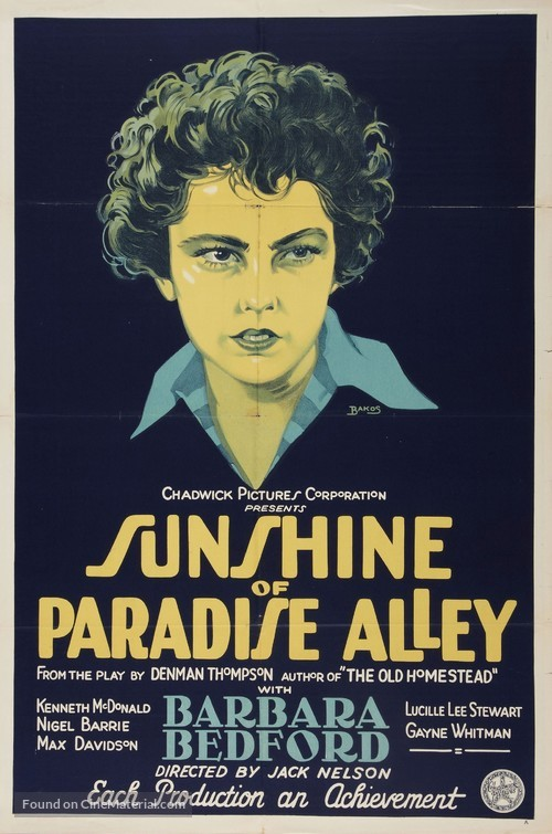 Sunshine of Paradise Alley - Movie Poster