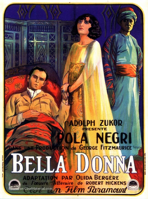 Bella Donna - French Movie Poster