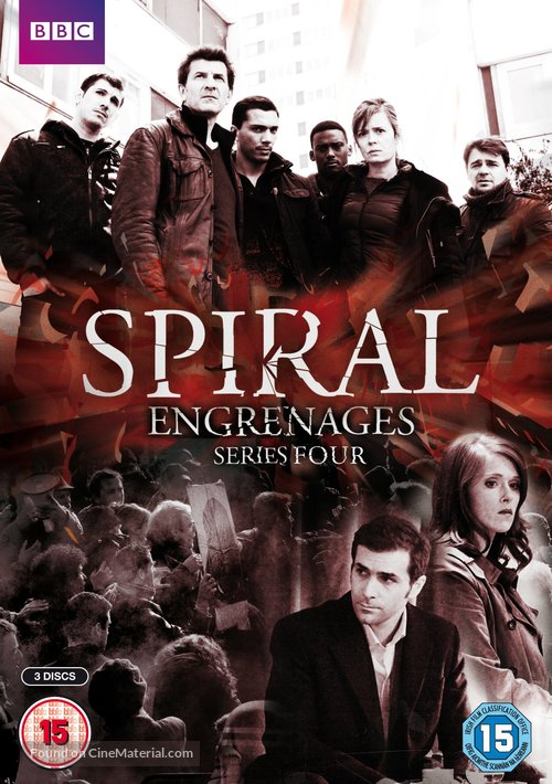 """""""Engrenages"""" - British DVD movie cover"""