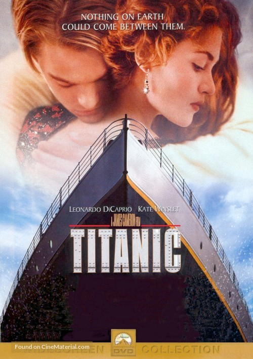 Titanic - DVD movie cover