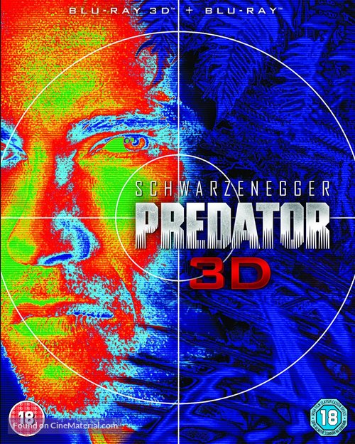 Predator - British Blu-Ray movie cover