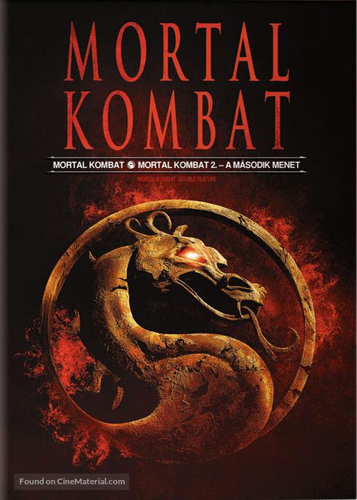 Mortal Kombat - Hungarian DVD cover