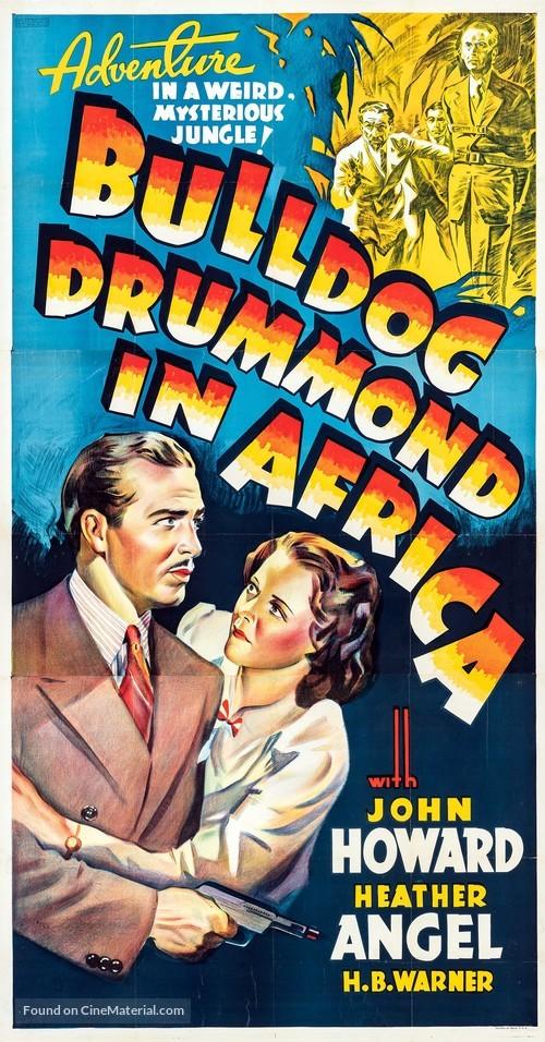 Bulldog Drummond in Africa - Movie Poster