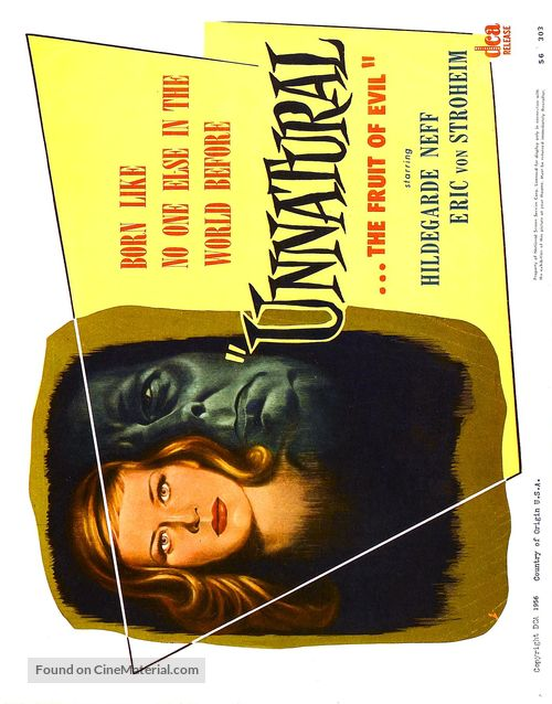 Alraune - Movie Poster