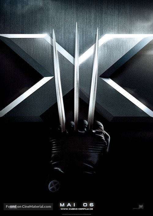 X-Men: The Last Stand - German Movie Poster