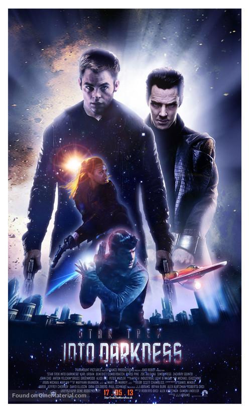 Star Trek Into Darkness 2013 British Movie Poster