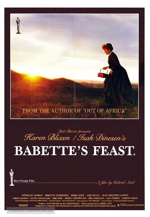 Babettes gæstebud - Movie Poster