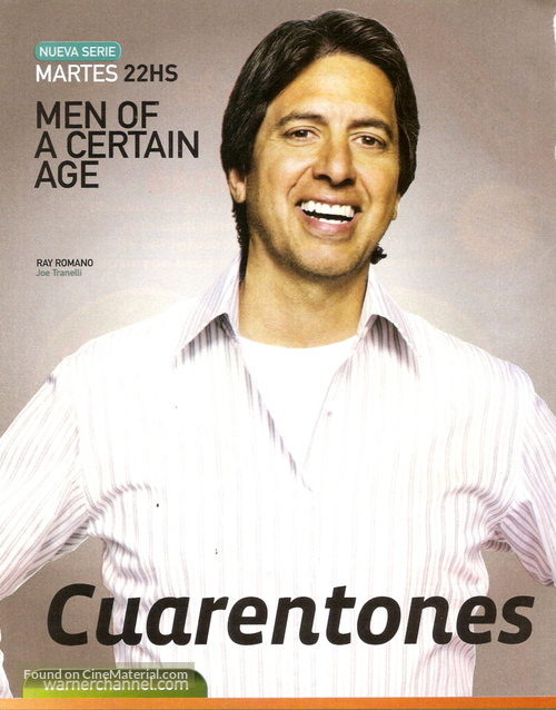 """Men of a Certain Age"" - Argentinian Movie Poster"