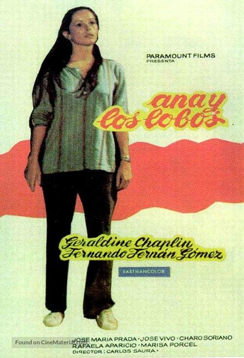 Ana y los lobos - Spanish Movie Poster
