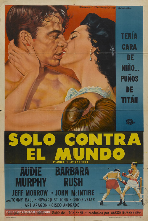 World in My Corner - Argentinian Movie Poster